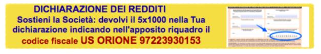 clicca sull'immagine per donare il 5x1000 alla Società